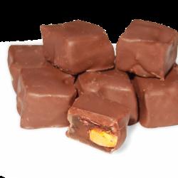 Antep Fıstıklı Çikolata Kaplı Duble Lokum